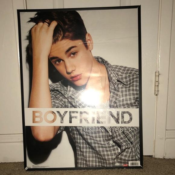 Four Framed Justin Bieber Posters | Poshmark